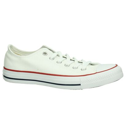 Lage Sportieve Sneakers Zwart Converse All Star Core Ox, Wit, pdp