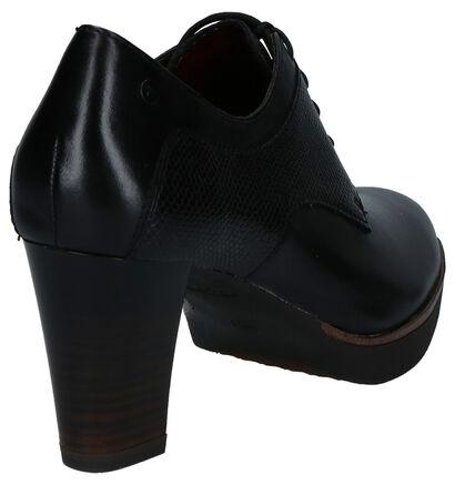 Tamaris ANTIshokk Escarpins montants en Noir en cuir (257187)