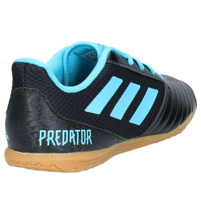 adidas Predator 19.4 Zwarte Voetbalschoenen in imitatieleer (252943)