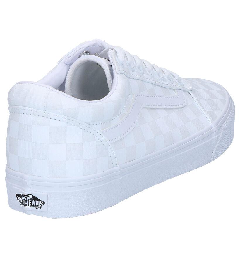 Vans Ward Zwarte Sneakers in stof (264182)