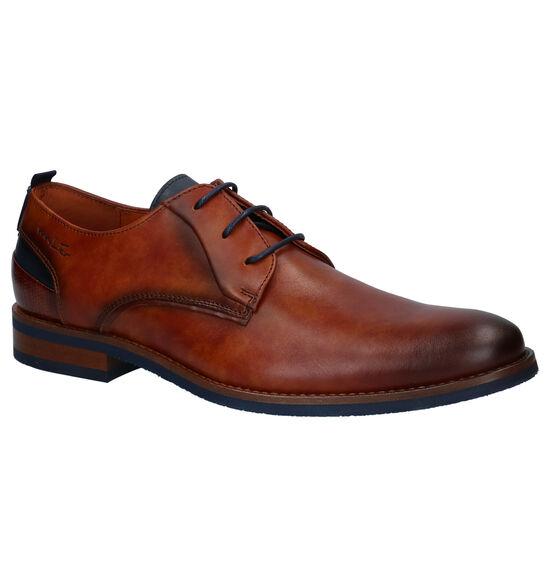 Van Lier Chaussures habillées en Cognac