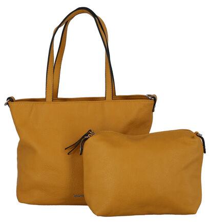 Emily & Noah Witte Bag in Bag Handtas in kunstleer (276010)