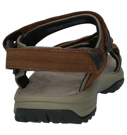 Bruine Sandalen Teva Terra Fi Lite Leather, Bruin, pdp