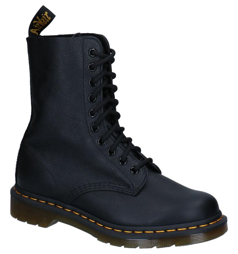Dr. Martens 1490 Zwarte Boots in leer (277081)
