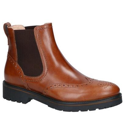 NeroGiardini Cognac Boots in leer (259794)