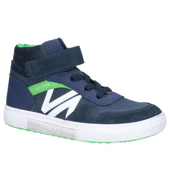 Vado Nick Blauwe Hoge Sneakers