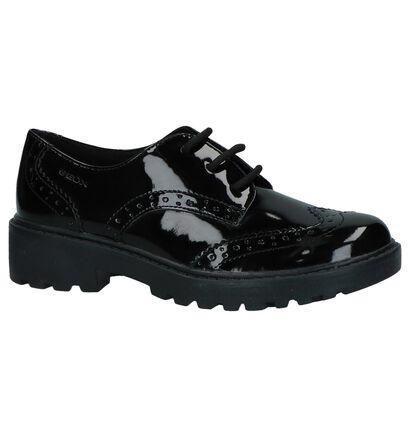 Geox Chaussures basses en Noir en simili cuir (232722)