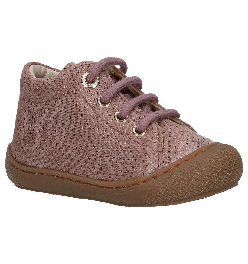Naturino Cocoon Chaussures hautes en Cognac en daim (282247)