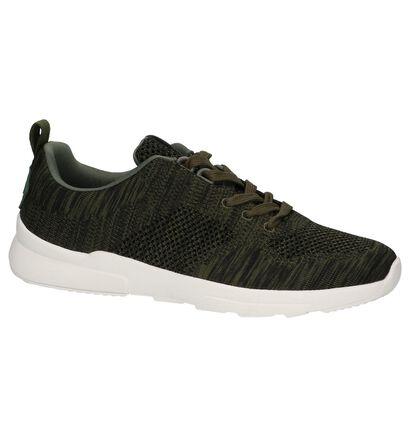 Kaki Lage Sportieve Sneakers Bullboxer, Groen, pdp