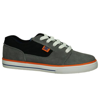 Grijze Skater DC Shoes Tonik in stof (198604)