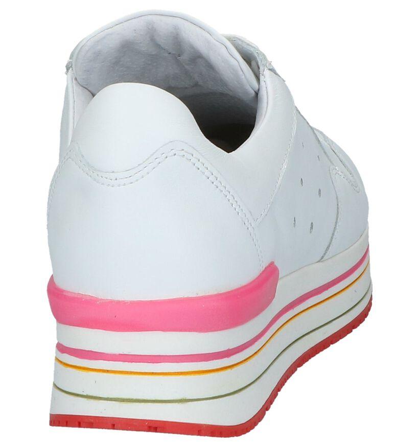 Tango Baskets basses en Blanc en cuir (224194)