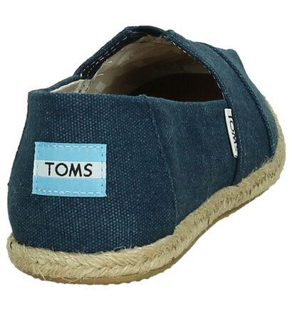 Toms Espadrilles  (Noir), Bleu, pdp