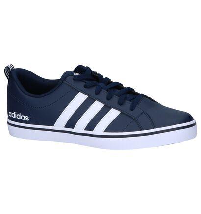 Donkerblauwe Sneakers Adidas VS Pace in imitatieleer (242942)