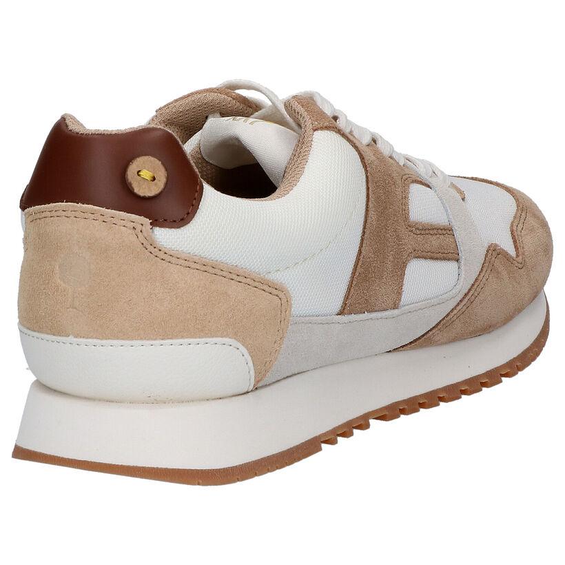 Faguo Ivy Chaussures à lacets en Blanc en textile (274851)