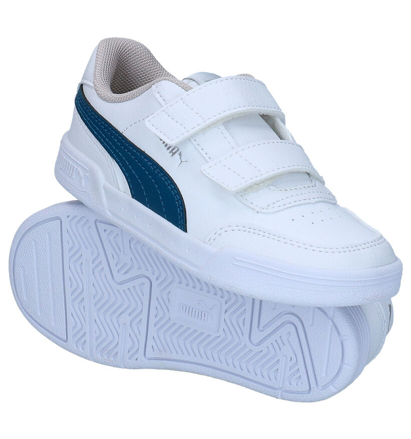 Puma Caracal Baskets en Blanc en simili cuir (276755)