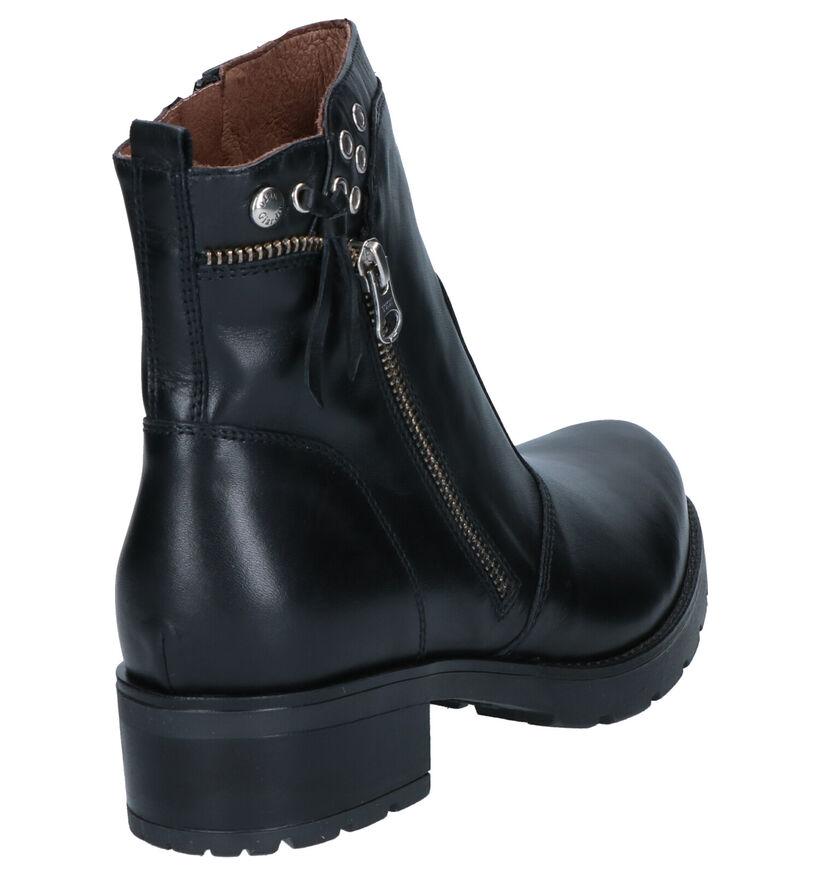 NeroGiardini Bottines en Noir en cuir (259792)