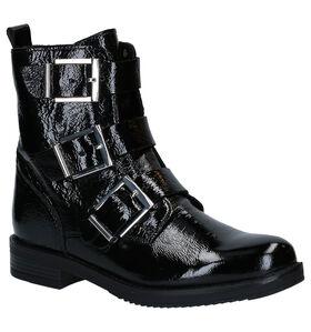 Poelman Conan Zwarte Boots in lakleer (291393)