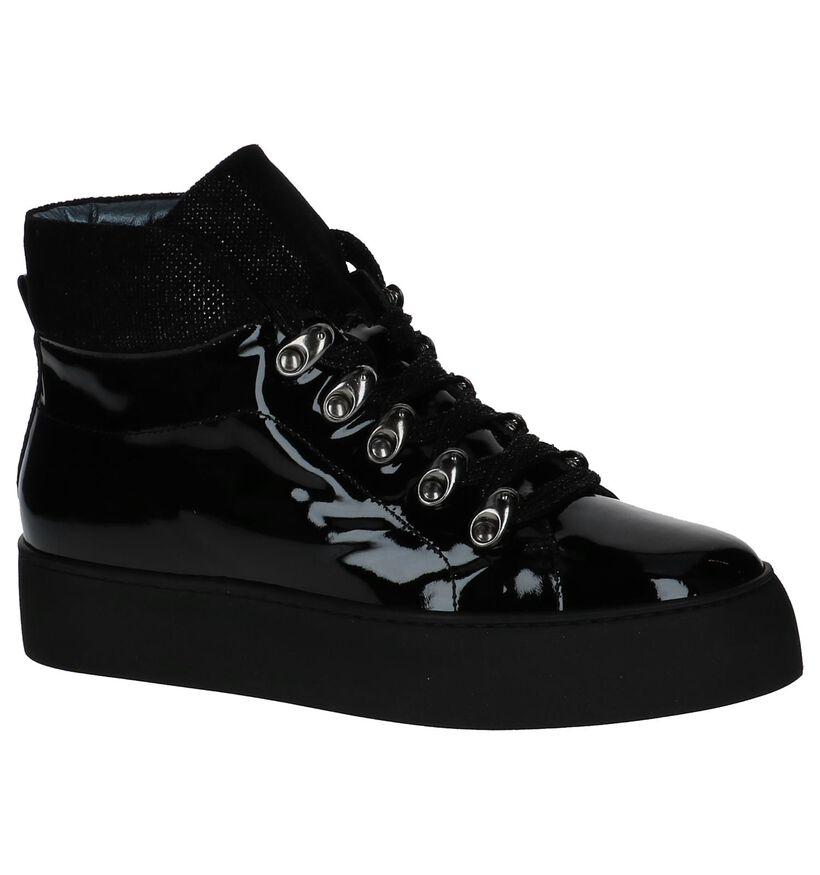 Zwarte Boots Tine's Forma in lakleer (233950)