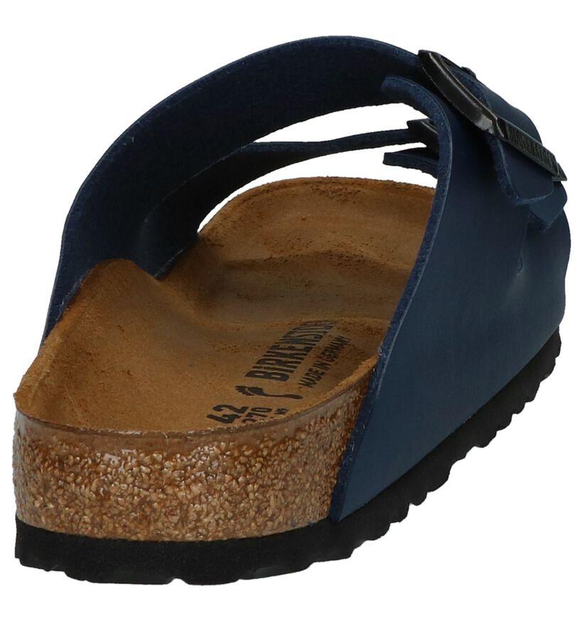 Birkenstock Arizona Nu-pieds en Brun en simili cuir (286883)