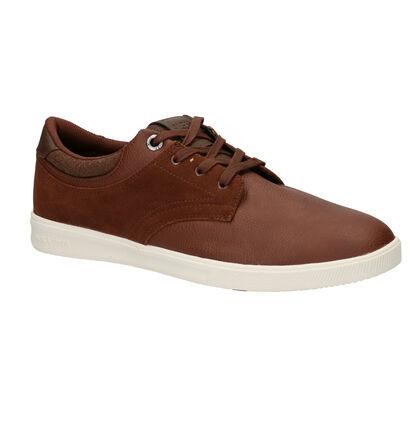 Zwarte Sneakers Jack & Jones Spencer, Cognac, pdp