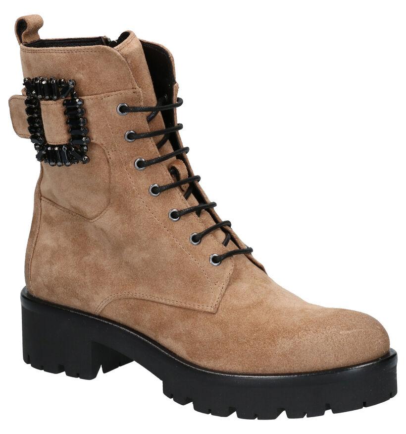 Bruno Premi Beige Boots in daim (262335)