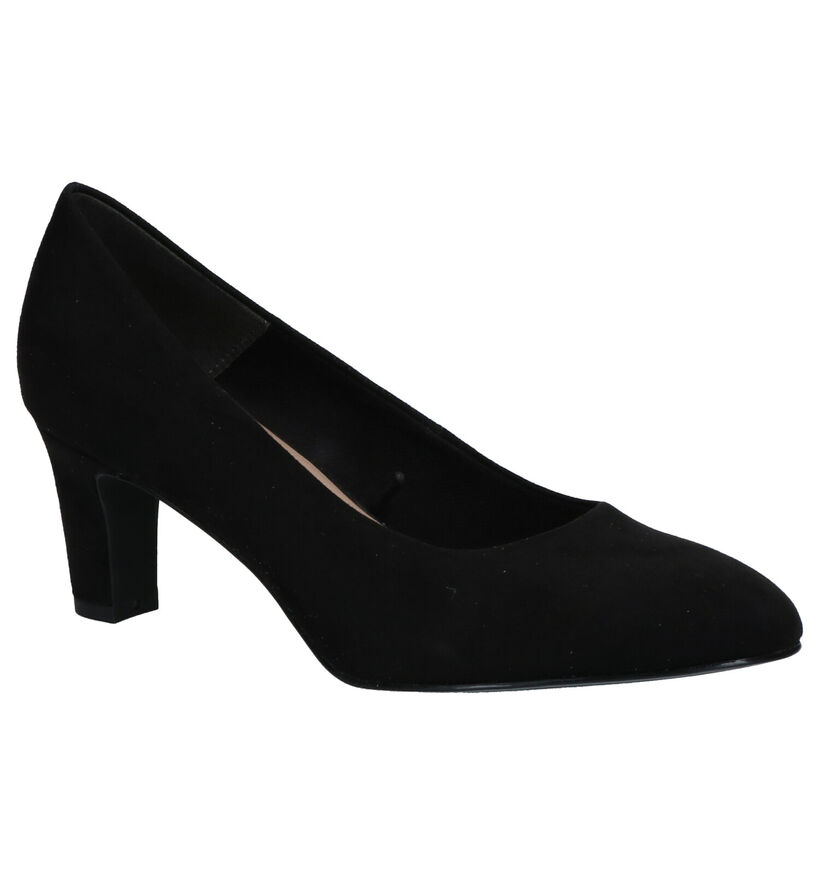 Tamaris TOUCH it Zwarte Pumps in stof (270206)