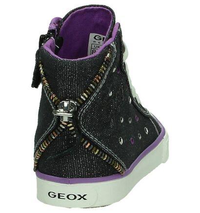 Hoge Sneakers Blauw Geox, Blauw, pdp