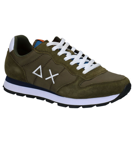 Sun 68 Kaki Sneakers