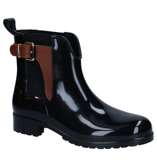 Tommy Hilfiger Bottes de pluie en Noir