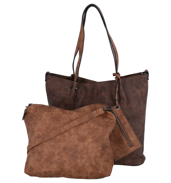 Emily & Noah Bruine Bag in Bag Shopper