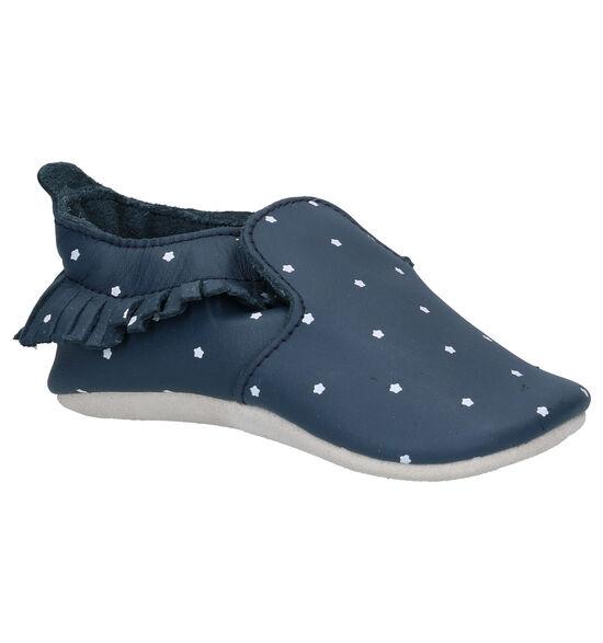 Bobux Navy Twinkle Blauwe Babyschoentjes