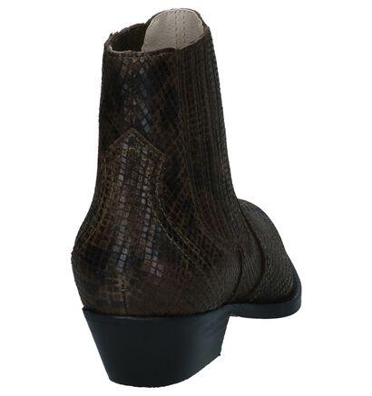 Zwarte Western Boots Bullboxer, Groen, pdp