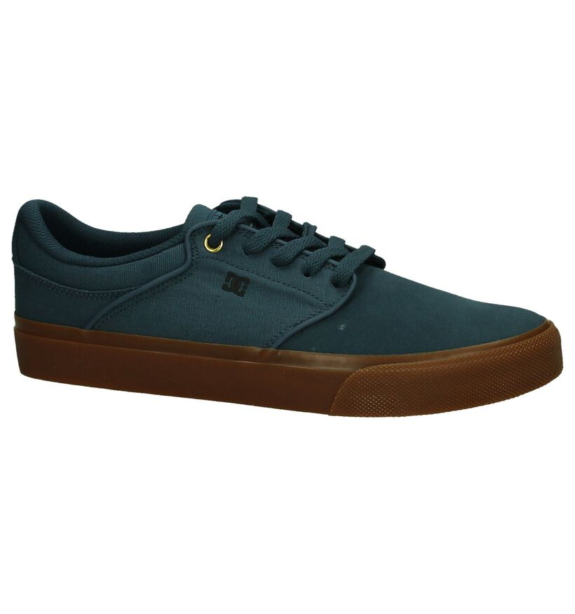 DC Shoes Skate sneakers en Bleu foncé en textile (198607)