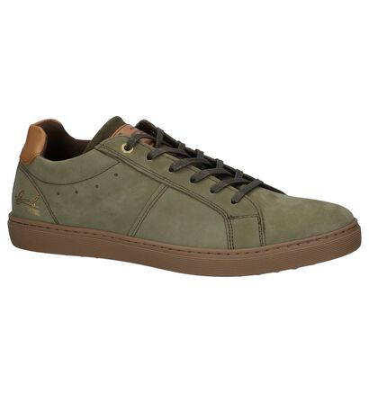 Bullboxer Chaussures basses en Vert kaki en nubuck (226667)