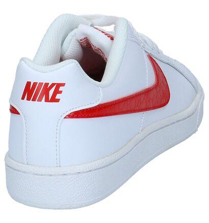 Witte Lage Sneakers Nike Court Royale in imitatieleer (234076)