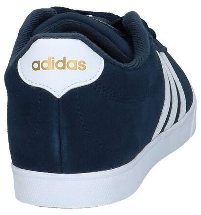 Zwarte Sneakers adidas Courtset W, Blauw, pdp
