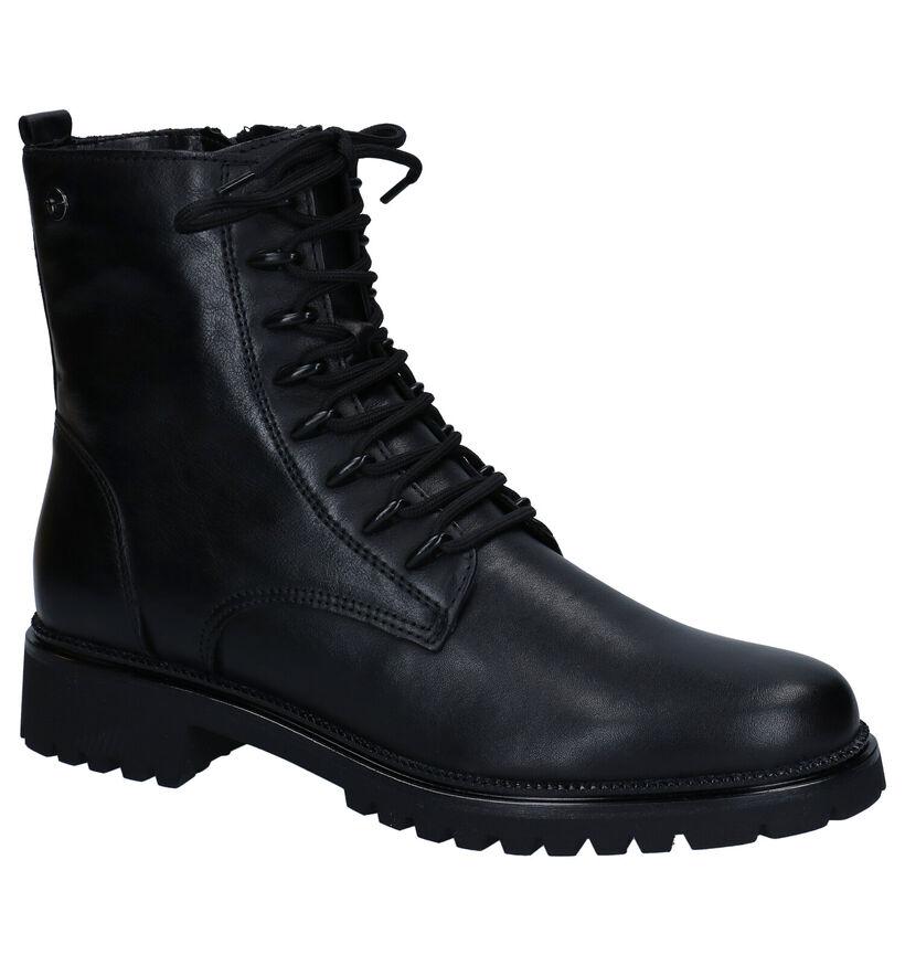 Tamaris Bottines en Noir en cuir (280803)