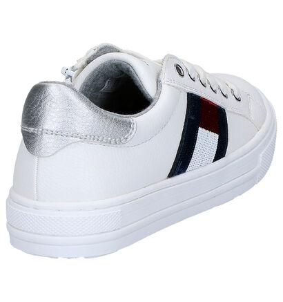 Tommy Hilfiger Baskets basses en Blanc en simili cuir (266563)