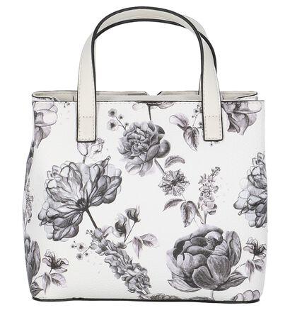 Fiorelli Argyle Witte Handtas met Bloemenprint, Wit, pdp