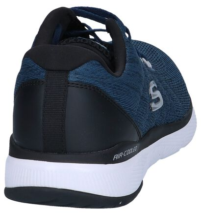 Jeansblauwe Sneakers Skechers Lite-Weight, Blauw, pdp