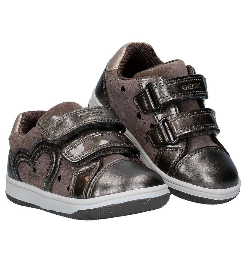 Geox Flick Chaussures pour bébé en Bronze en simili cuir (278280)