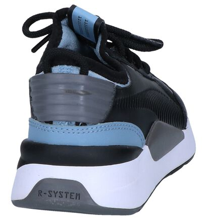 Zwarte Sneakers Puma Running System in kunstleer (252622)