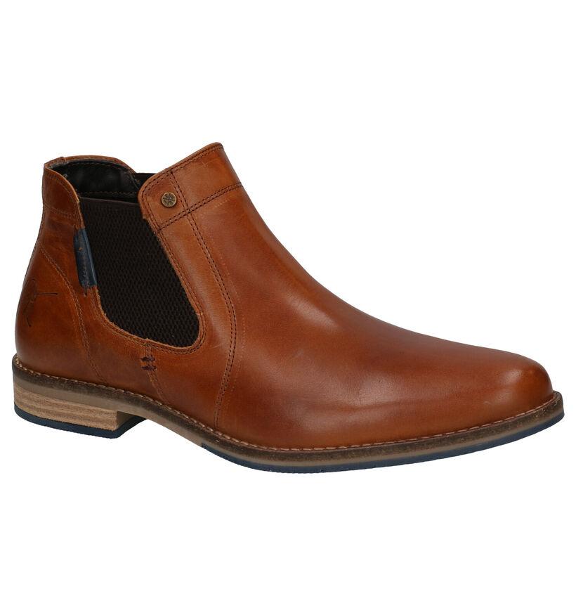 Bullboxer Chelsea Boots en Cognac en cuir (276986)
