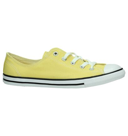 Converse Chuck Taylor All Star Dainty Sneakers Wit, Geel, pdp