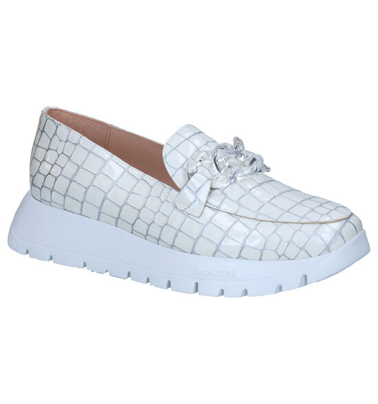 Wonders Ecru Loafers