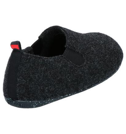Camper Pantoufles fermées en Noir en textile (256268)