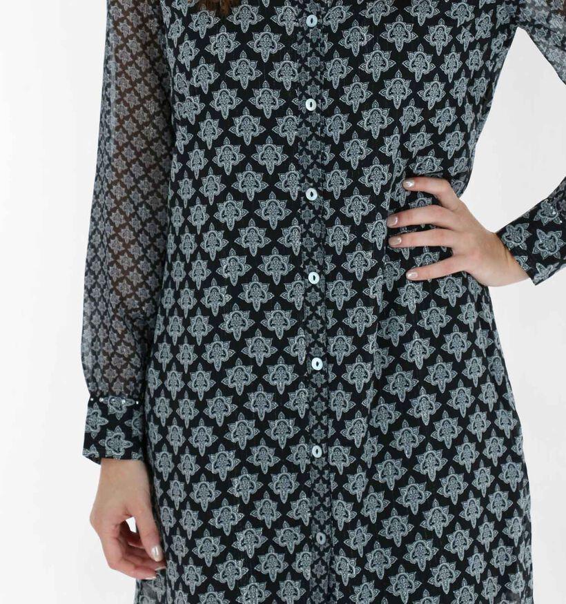Tramontana Robe Chemise en Noir (282016)