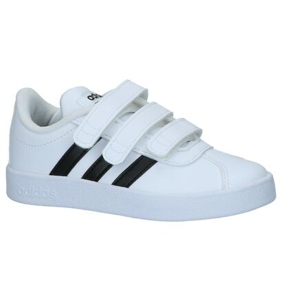 Witte Lage Sneakers adidas VL Court 2.0 CMF C, Wit, pdp