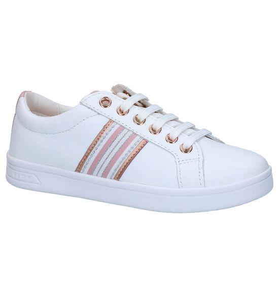 Geox Dj Rock Chaussures à lacets en Blanc