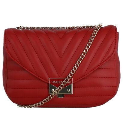 Valentino Handbags Cajon Sac porté croisé en Rouge en simili cuir (259240)